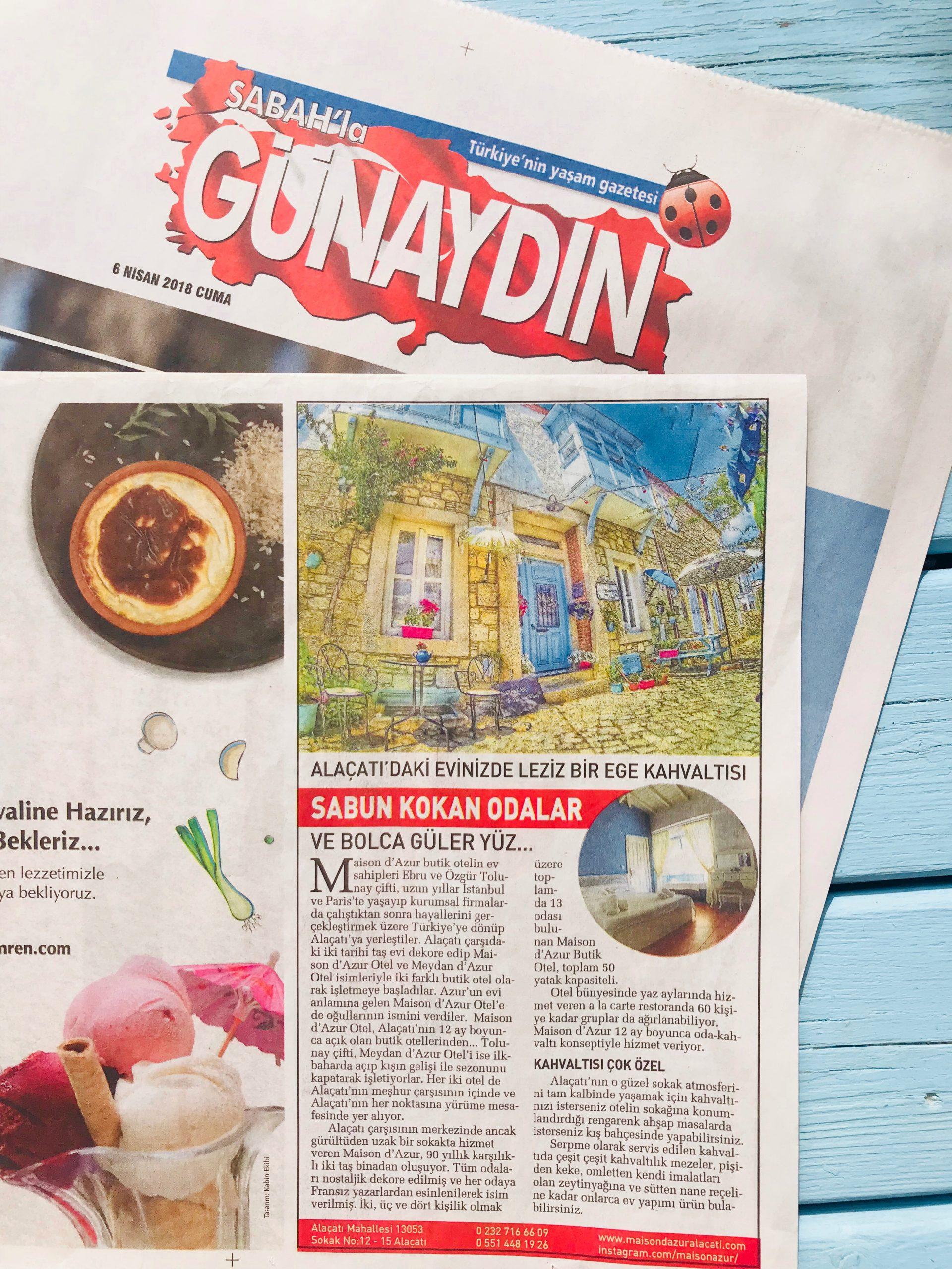 Gunaydin 6 Nisan 2018